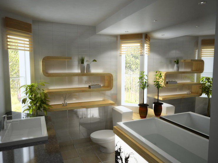 Bathroom by Dekorasyontadilat,