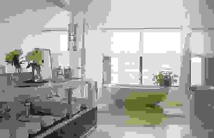 トロピカルスタイルの お風呂・バスルーム の Dekorasyontadilat トロピカル