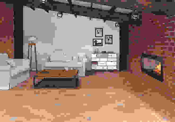 Alhambra Circle Salones rústicos de estilo rústico de SANCHIS Rústico