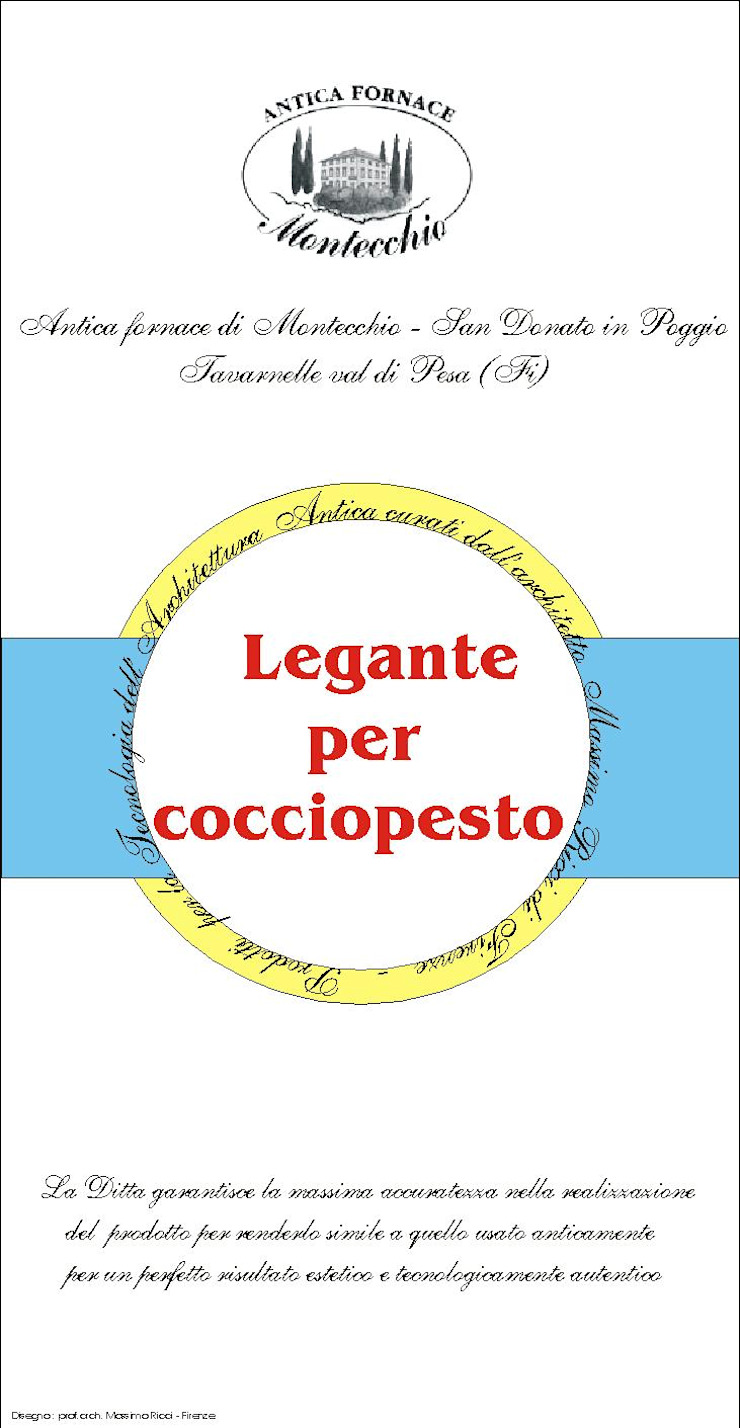 Materiali usati per la realizzazione del Cocciopesto Montecchio S.r.l. Pareti & Pavimenti in stile mediterraneo