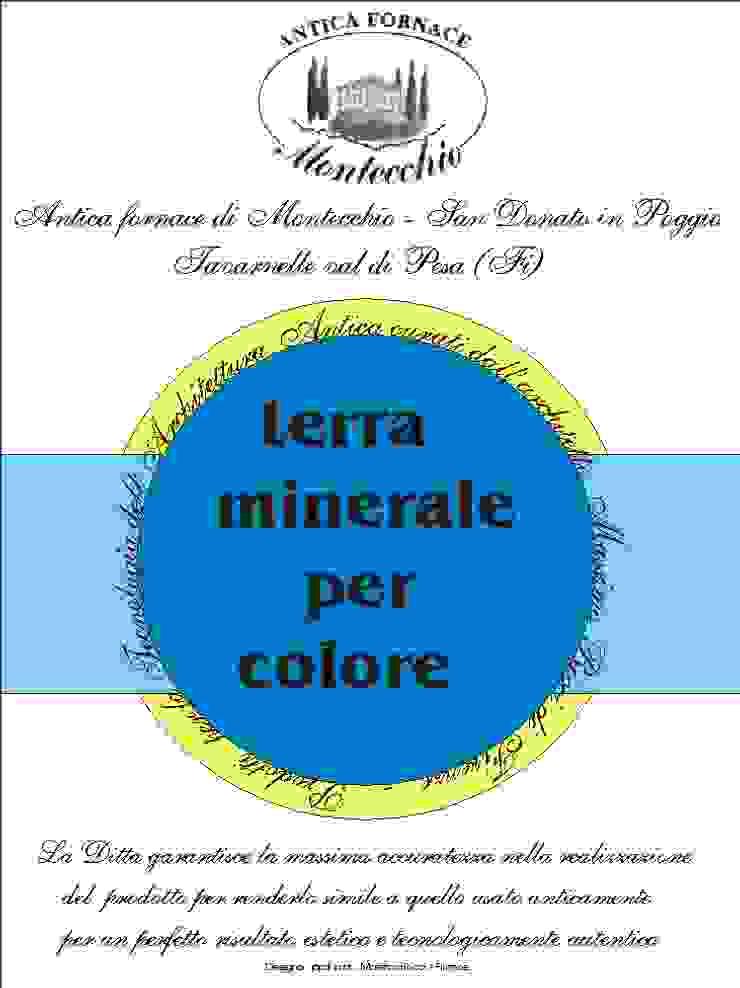 Materiali usati per la realizzazione del Cocciopesto Montecchio S.r.l. Giardino in stile mediterraneo
