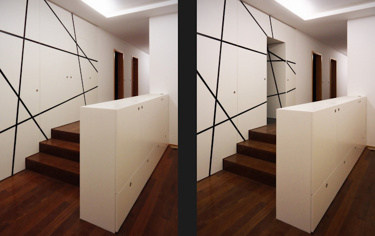 Classic style corridor, hallway and stairs by EVA | evolutionary architecture Classic