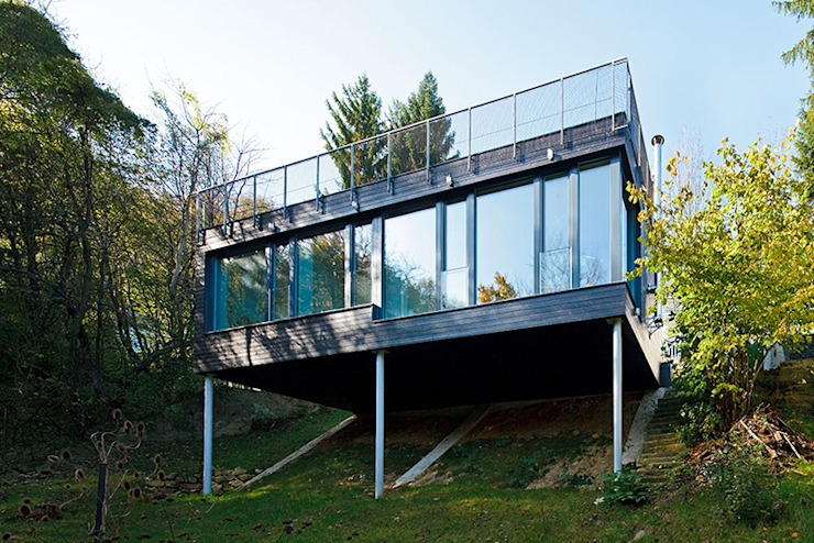 Haus C, Wien Moderne Häuser von sandbichler architekten Modern