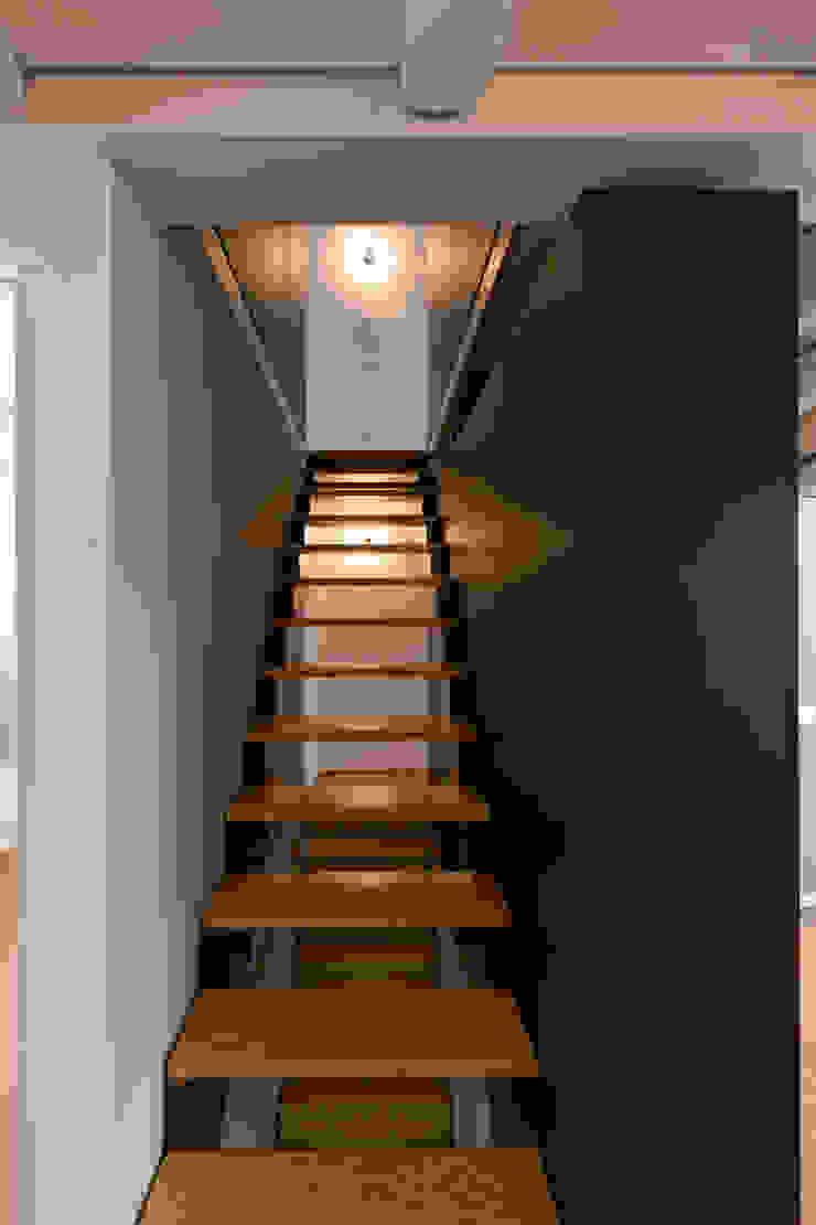Paulo Freitas e Maria João Marques Arquitectos Lda Minimalist corridor, hallway & stairs