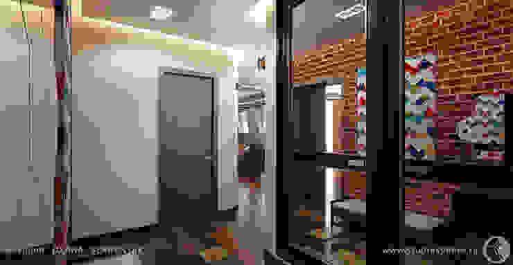 Просторные лофт апартаменты Коридор, прихожая и лестница в стиле лофт от Дизайнер/Декоратор интерьера Лофт