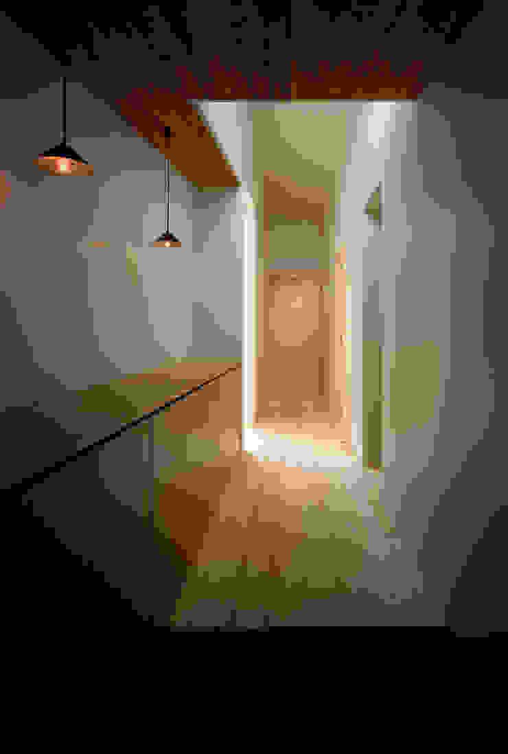 河辺の平屋住宅 モダンスタイルの 玄関&廊下&階段 の トリノス建築計画 モダン