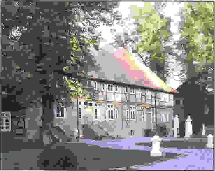 4 Wohneinheiten im ehemaligen Brauhaus Landhäuser von v. Bismarck Architekt Landhaus