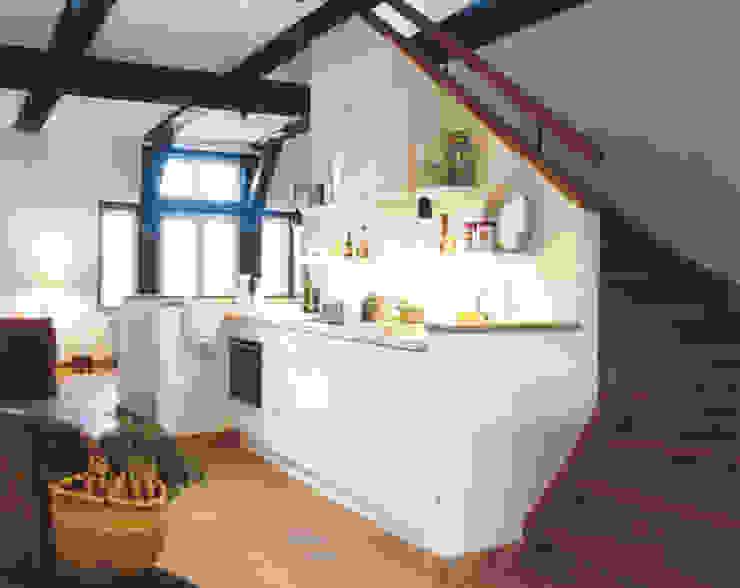 Projekty,  Kuchnia zaprojektowane przez v. Bismarck Architekt, Wiejski