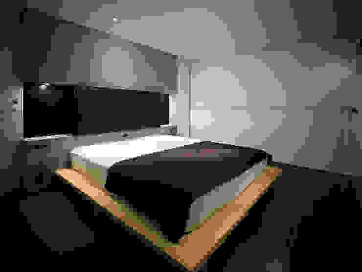 中野坂上のリノベーション モダンスタイルの寝室 の トリノス建築計画 モダン