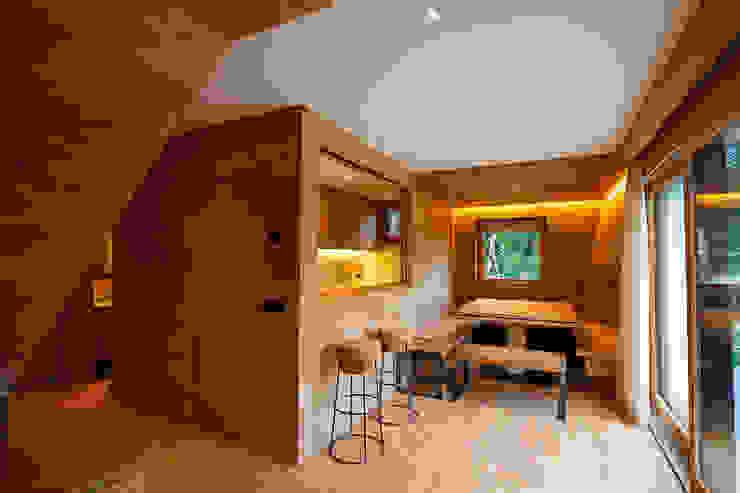 H1740 BEARprogetti - Architetto Enrico Bellotti Sala da pranzo moderna
