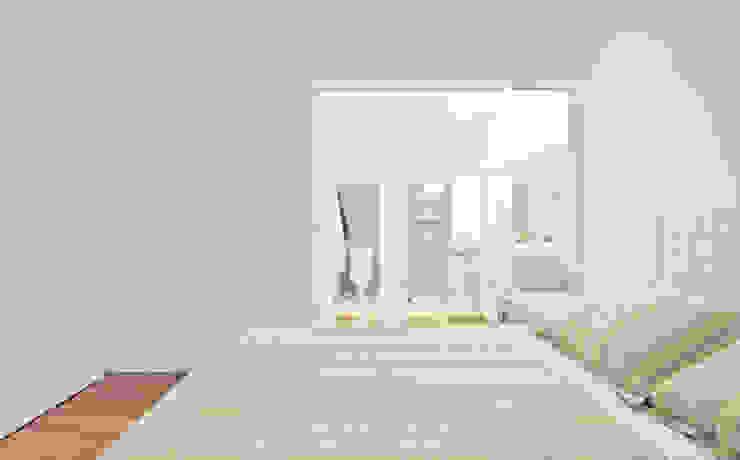 Cuartos de estilo moderno de Stuchi&Leite Projetos Moderno