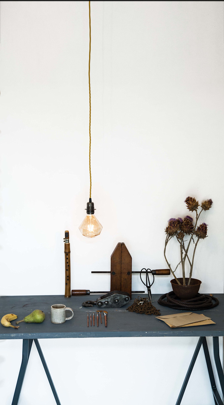 Sapphire LED Light Bulb - Console Table William and Watson Corridor, hallway & stairsLighting