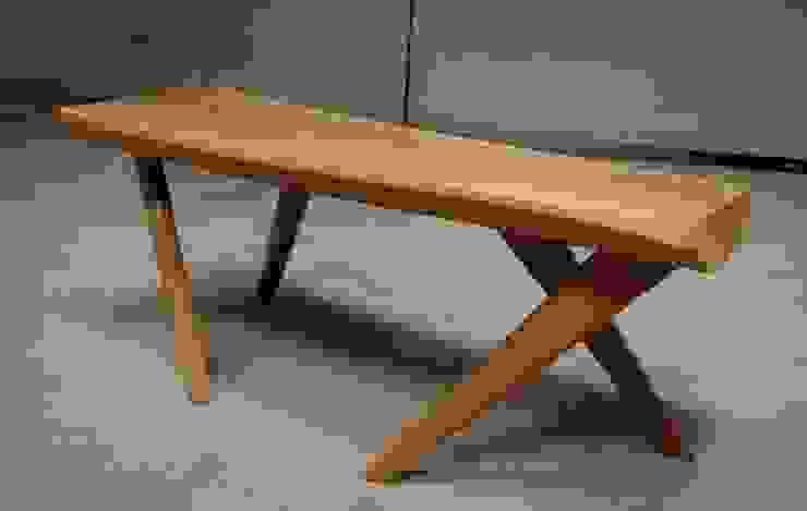 Table basse moderniste style scandinaverustique années 60 par Martin La Brocante Scandinave