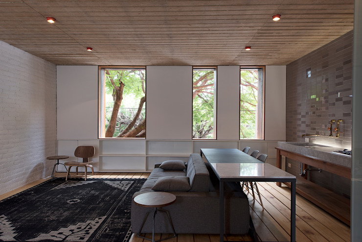 Phòng khách phong cách công nghiệp bởi Alvaro Moragrega / arquitecto Công nghiệp