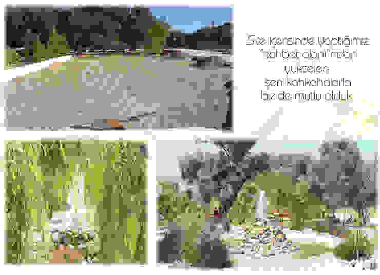 Mediterranean style gardens by sihirlipeyzaj Mediterranean