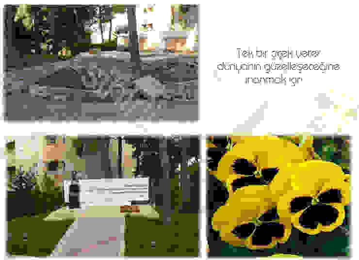Modern style gardens by sihirlipeyzaj Modern