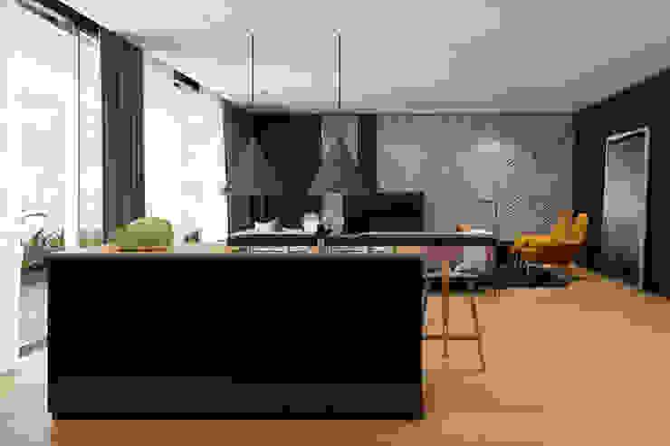 Tel Aviv apartment Гостиная в стиле минимализм от Diff.Studio Минимализм