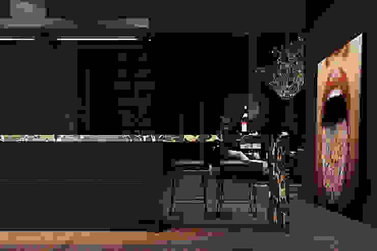 Paris apartment. Кухни в эклектичном стиле от Diff.Studio Эклектичный