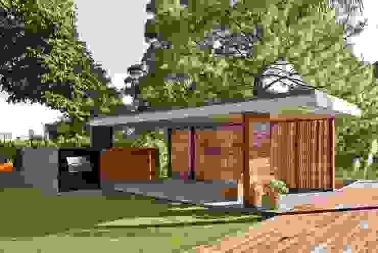 CASA RP: Terrazas de estilo  por Alvaro Moragrega / arquitecto, Moderno
