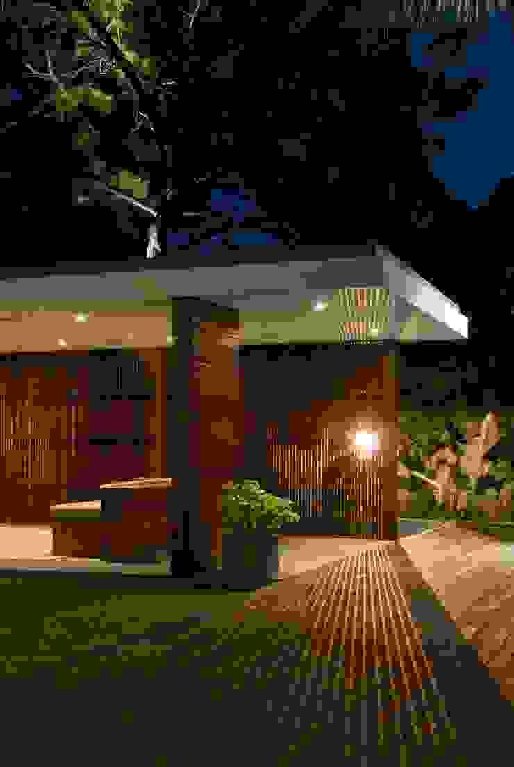 CASA RP Balcones y terrazas modernos de Alvaro Moragrega / arquitecto Moderno
