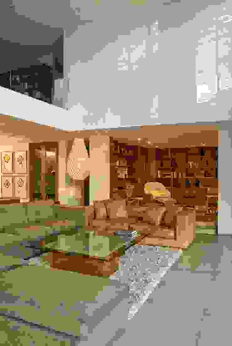 CASA RP Salones modernos de Alvaro Moragrega / arquitecto Moderno