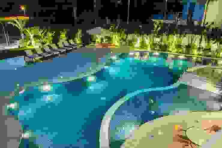 Casa - Praia de Tabatinga Piscinas modernas por Hurban Liv Arquitetura & Interiores Moderno