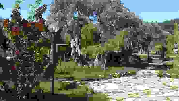 Taman Gaya Mediteran Oleh sihirlipeyzaj Mediteran