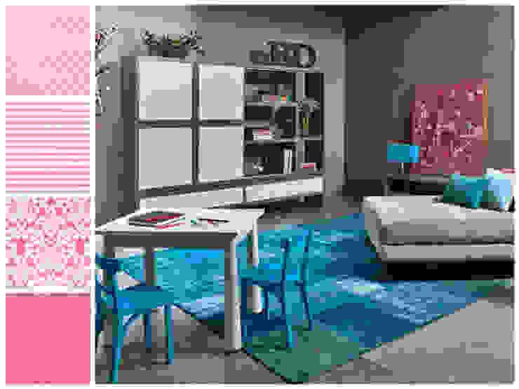 Estar familiar o family room Salas multimedia minimalistas de MARIANGEL COGHLAN Minimalista