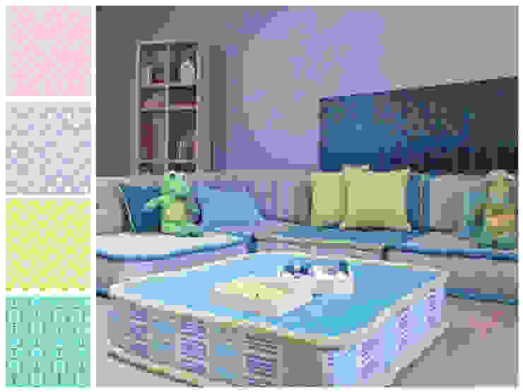 Sala infantil Dormitorios infantiles modernos de MARIANGEL COGHLAN Moderno