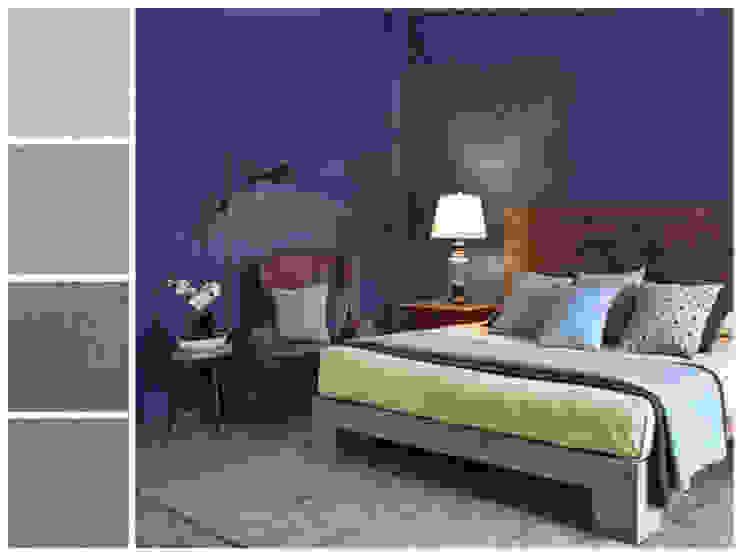 Rustic style bedroom by MARIANGEL COGHLAN Rustic