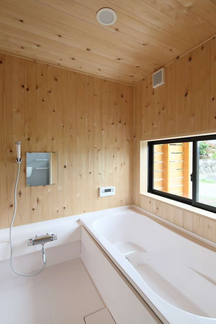 浴室 オリジナルスタイルの お風呂 の 芦田成人建築設計事務所 オリジナル