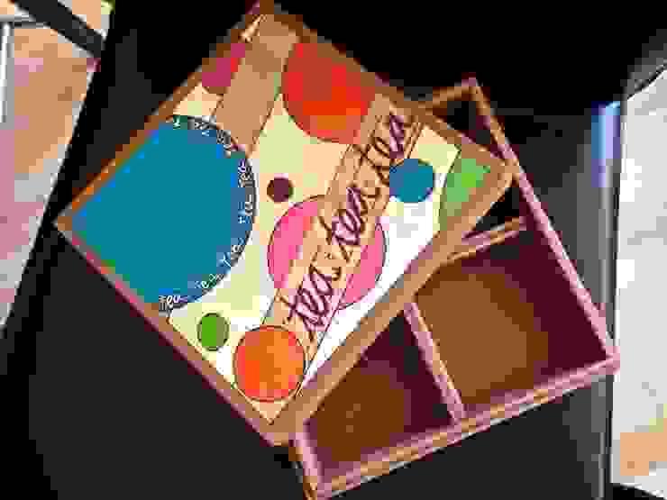 Caja de té circulos de Libel Clásico