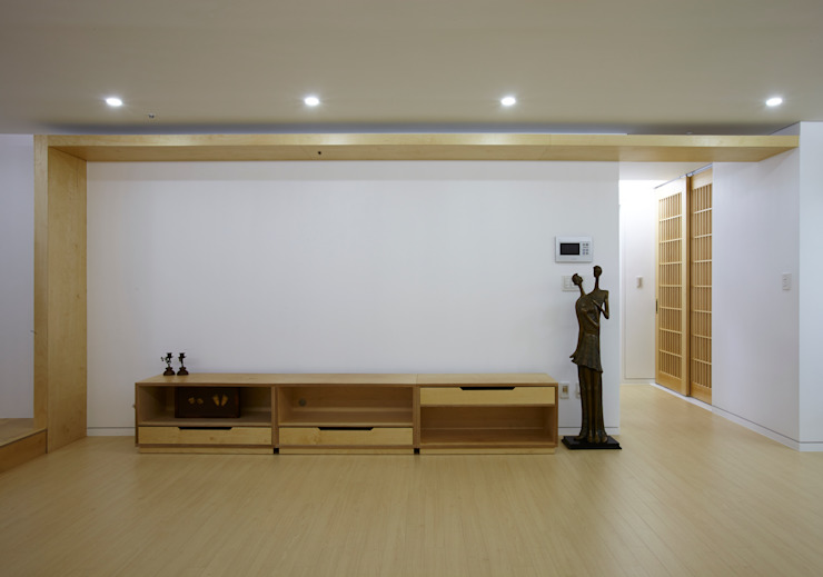 스마트건축사사무소 Living roomTV stands & cabinets