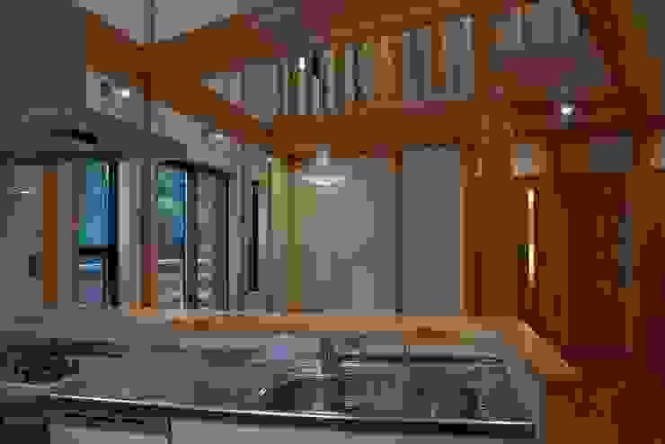 緑区の家 カントリーデザインの キッチン の 波多周建築設計 カントリー