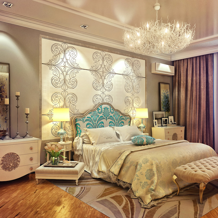 Eclectic style bedroom by Sweet Home Design Eclectic
