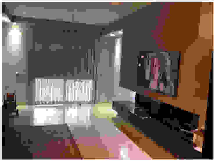 Reforma Integrales Salones de estilo moderno de AZD Diseño Interior Moderno