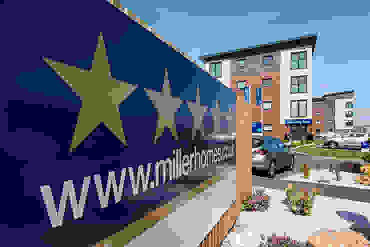 Miller Homes UK Pergo Modern houses