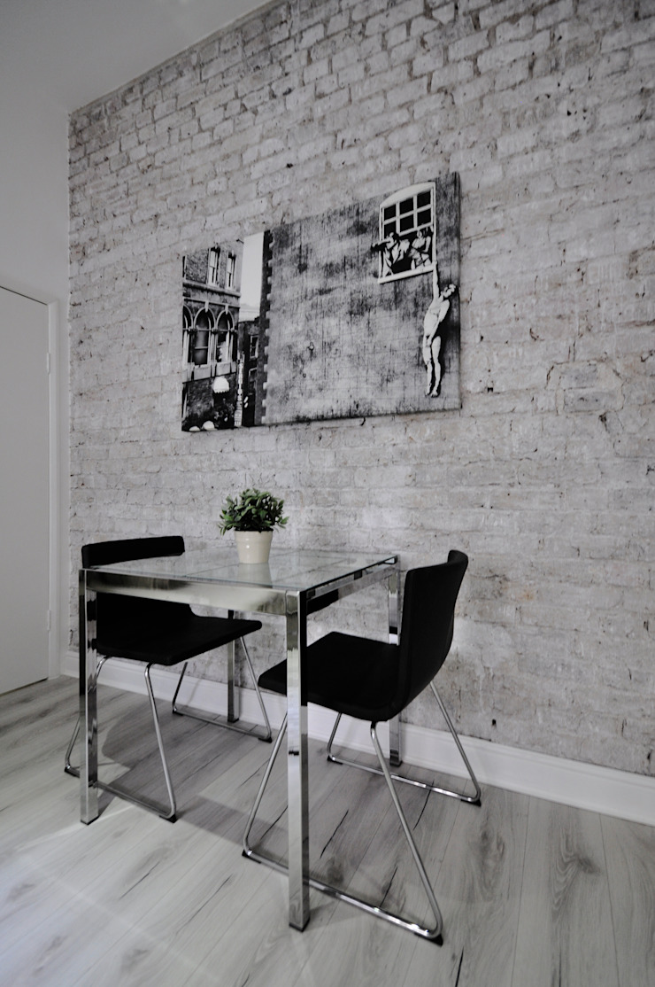 Apartments in Nothing Hill, London Industrial style dining room by Pergo Industrial