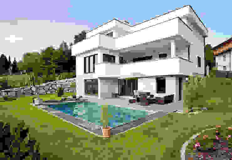 Дома в стиле модерн от ELK Fertighaus GmbH Модерн