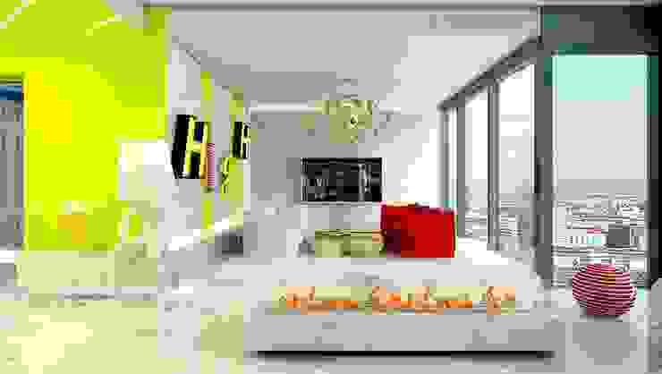 COSMO DESIGN Nowoczesny salon od High Level Design Studio Nowoczesny
