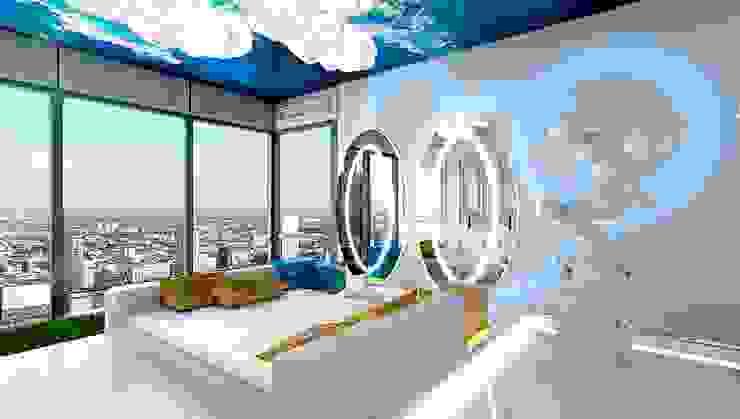 Спальня в стиле модерн от High Level Design Studio Модерн