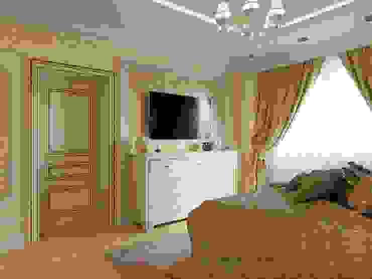 غرفة نوم تنفيذ ДизайнМастер,