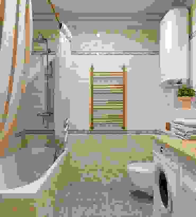 ЖК Ямайка 118 метров. <q>Просто Классика</q> Ванная в классическом стиле от ДизайнМастер Классический