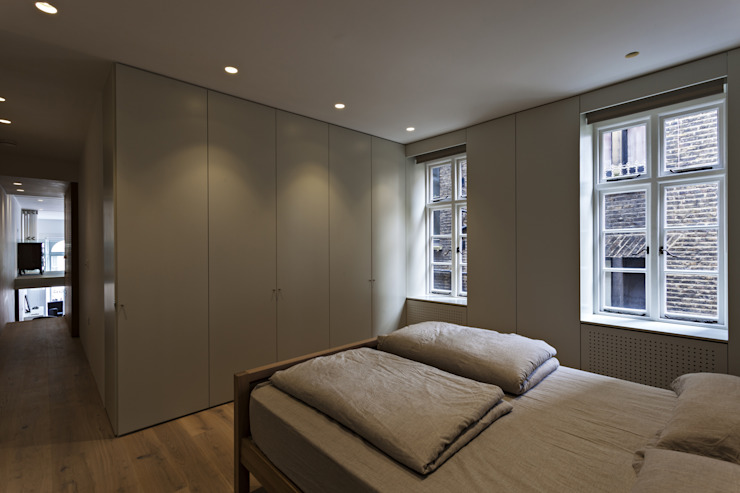 De Vere Gardens Chambre moderne par Viewport Studio Moderne