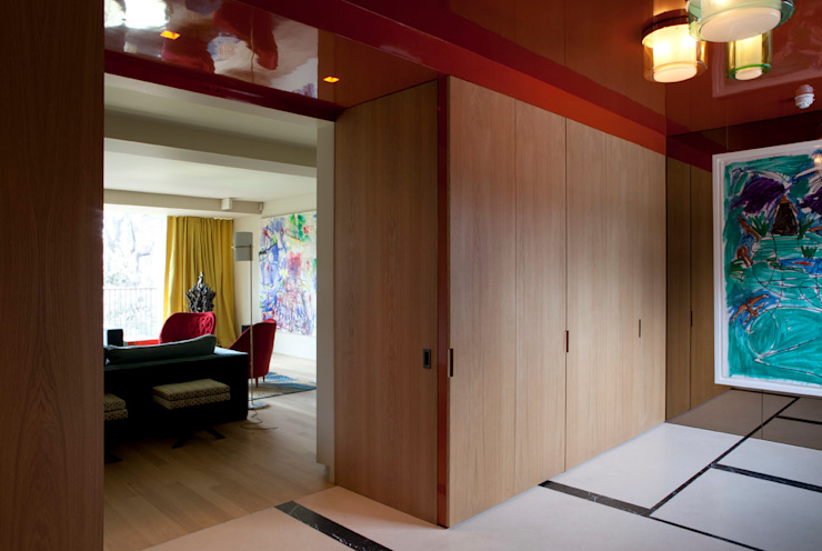 West London house Modern corridor, hallway & stairs by Viewport Studio Modern