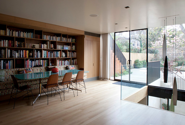 West London house Comedores de estilo moderno de Viewport Studio Moderno