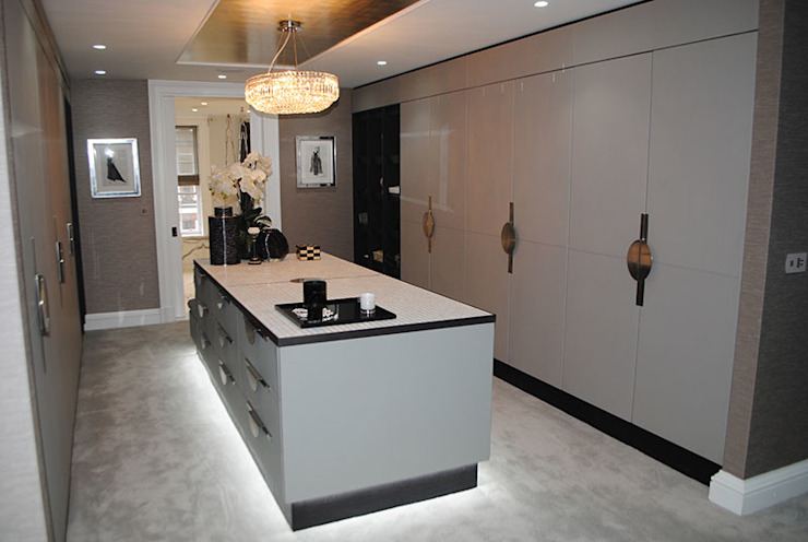 Counter Top by Cocovara Interiors Modern style dressing rooms by ShellShock Designs Modern