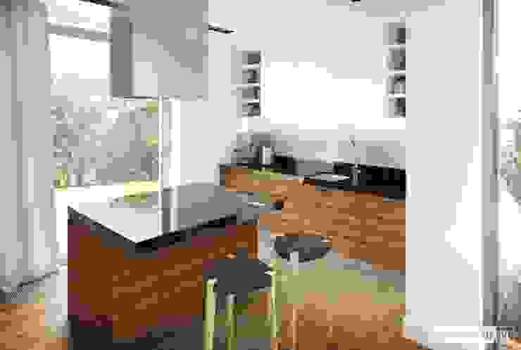 Pracownia Projektowa ARCHIPELAG Nhà bếp phong cách hiện đại