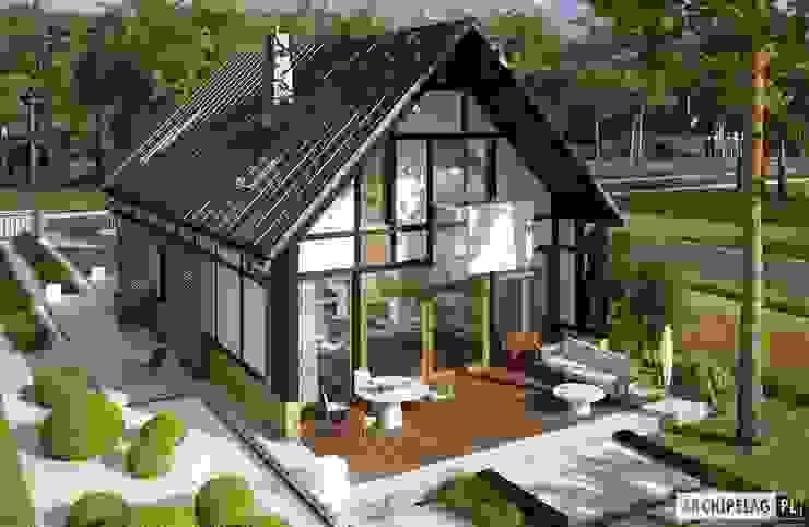 Casas estilo moderno: ideas, arquitectura e imágenes de Pracownia Projektowa ARCHIPELAG Moderno