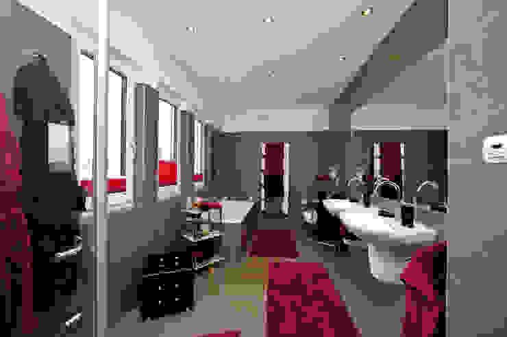 Baños modernos de ELK Fertighaus GmbH Moderno